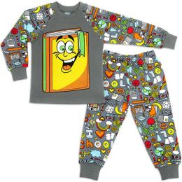 Пижама для мальчика интерлок №2
