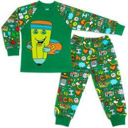 Пижама для мальчика интерлок №3