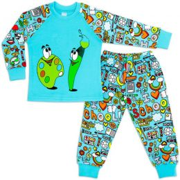 Пижама для мальчика интерлок №4