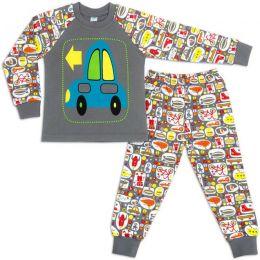 Пижама для мальчика интерлок №5