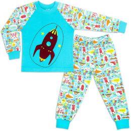 Пижама для мальчика интерлок №7