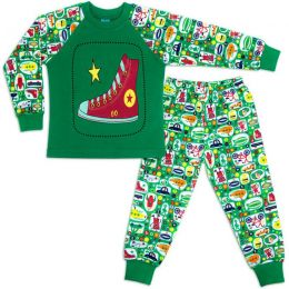 Пижама для мальчика интерлок №8