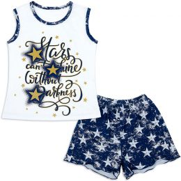 Пижама подростковая для девочки STAR
