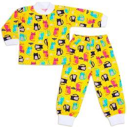 Пижама ясельная Котики