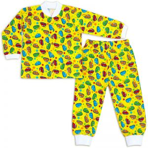 Пижама ясельная Машинки