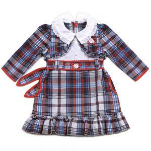 Платье Шотландка №7