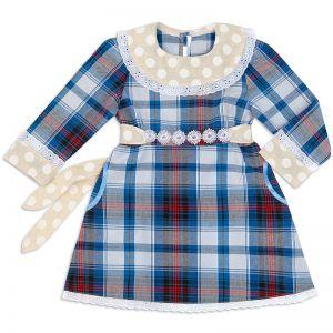 Платье Шотландка №9