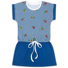 Платье для девочке на завязке Подсолнухи