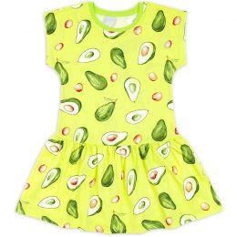 Платье для девочки Авокадо