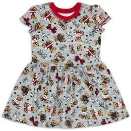 Платье для девочки Бантики