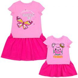Платье для девочки Beautiful №1 розовый