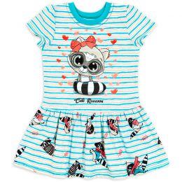 Платье для девочки Енотик