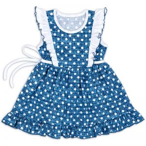 Платье для девочки Горох №2