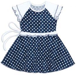 Платье для девочки Горох №3