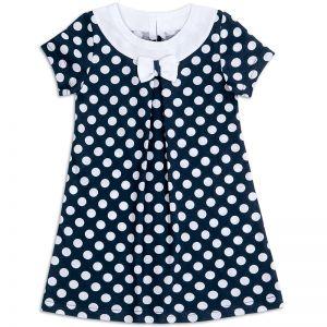 Платье для девочки Горох бантик
