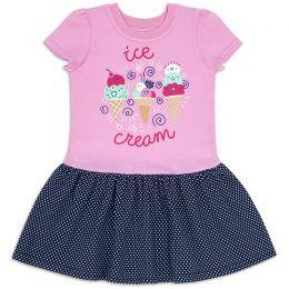 Платье для девочки Ice cream