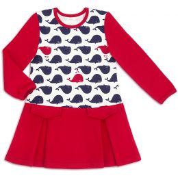 Платье для девочки Киты