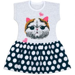 Платье для девочки Кошка
