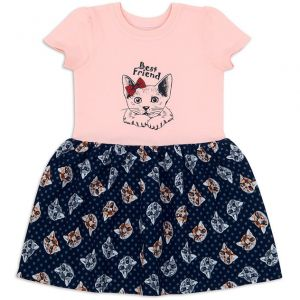 Платье для девочки Кошки №2