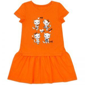 Платье для девочки Котятки