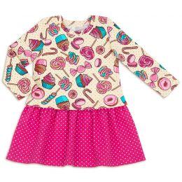 Платье для девочки Лакомка