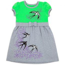 Платье для девочки Ласточки