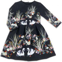 Платье для девочки Лебеди