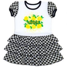 Платье для девочки Лимончик