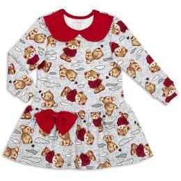 Платье для девочки Миша
