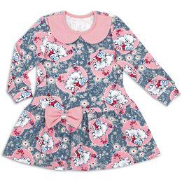 Платье для девочки Мишки