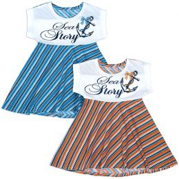 Платье для девочки Морячка