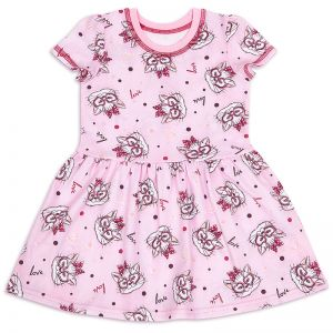 Платье для девочки Мяу