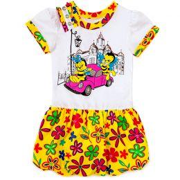 Платье для девочки Пчёлки