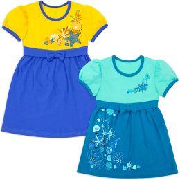 Платье для девочки Ракушки