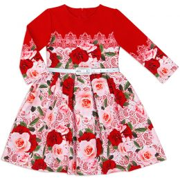 Платье для девочки Розы №3