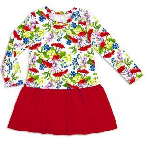 Платье для девочки Рябинка