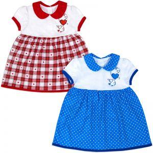 Платье для девочки Сердечко