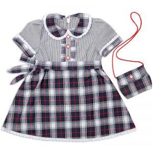 Платье для девочки Шотландка №12