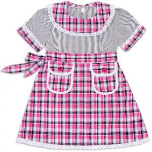 Платье для девочки Шотландка №14