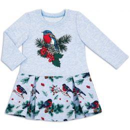 Платье для девочки Снегирь
