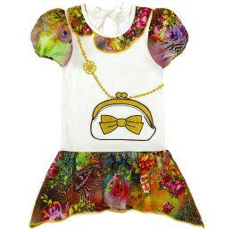 Платье для девочки Сумочка