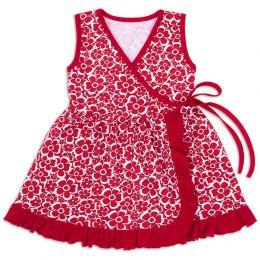 Платье для девочки Запашное
