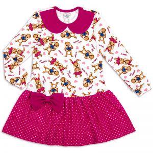 Платье для девочки Зайчики