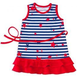 Платье для девочки Звёзды