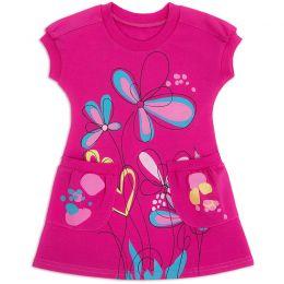 Платье для девочки с кармашками