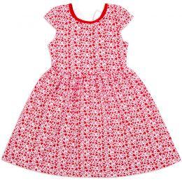 Платье для девочкм Сердечки