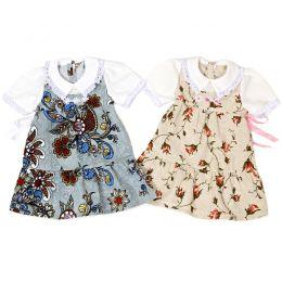 Платье льняное №1
