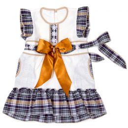 Платье льняное №2