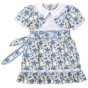 Платье льняное №4