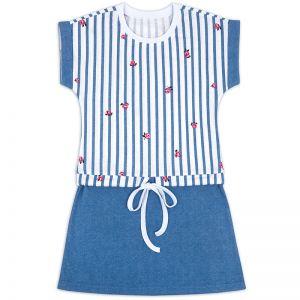 Платье на завязке для девочки Розочки